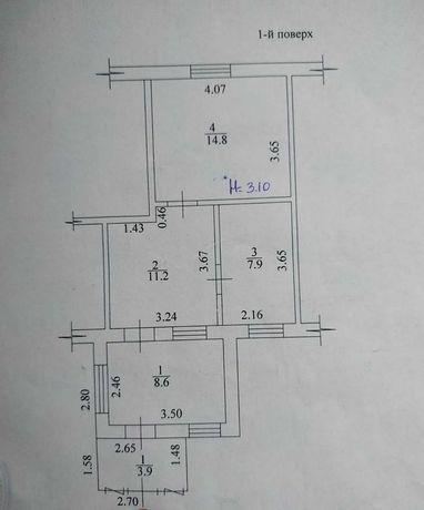 БВ. СРОЧНО! Продам 1/2 дома на Баварии по цене гостинки,  46м2