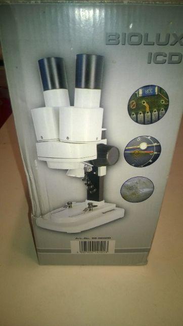 Микроскоп bresser biolux icd 10X в оригінальній упаковці.торг