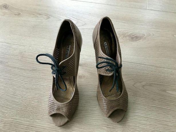 Buty skórzane szpilki TKmaxx rozmiar 38