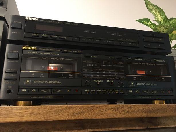 Tensai Serie 3000 Tuner + Deck Cassetes