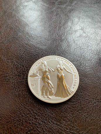 Moneta srebrna ALLEGORIES - Italia i Germania 2020