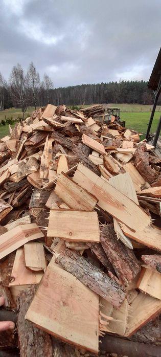 Drewno opałowe mieszane sezonowane modrzew, sosna, swierk 9-25cm Rzepowo - image 1