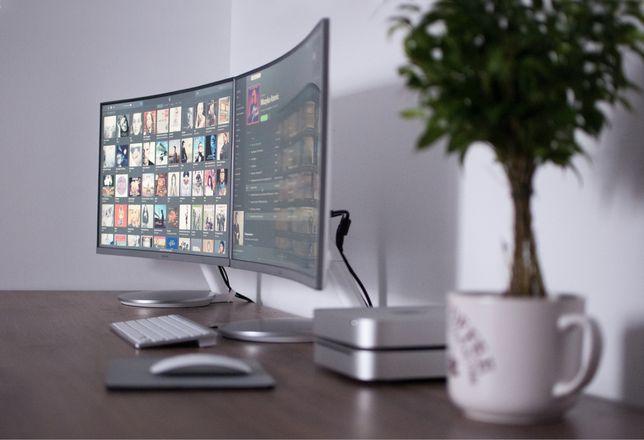 Sprzedam dwa monitory Curved Samsung LC27F591FDU
