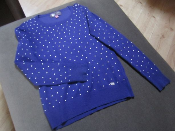 Sweterek damski LIPSY LONDON roz.M kol.wrzosowy