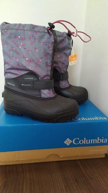 Детские зимние сапоги сноубутсы Columbia US 4