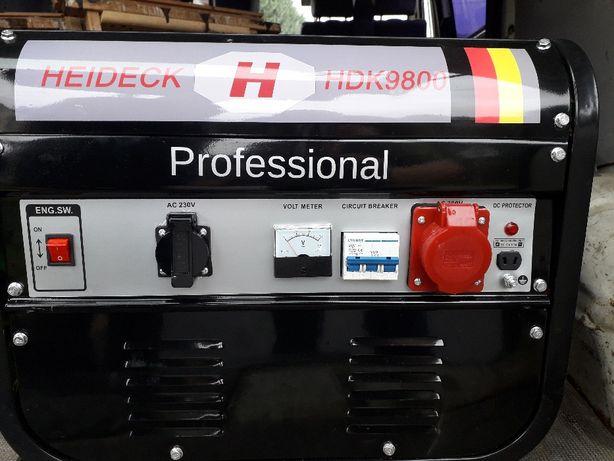 Agregat prądotwórczy HEIDECK HDK 9800