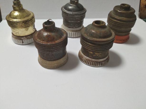 Старые патроны для ламп