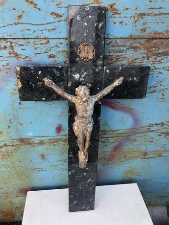 Krzyż antyk kamień 80 cm
