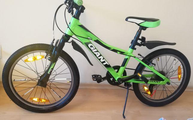 Детский велосипед GIANT XTC Jr 20 (мягкая передняя вилка, лёгкая рама)