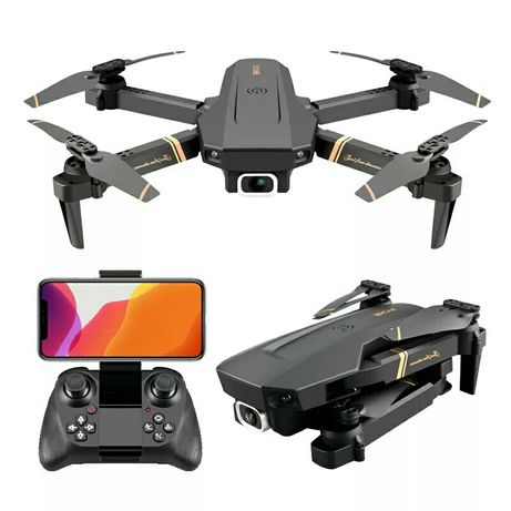 Dron Richie V4 Wifi FPV 2×kam 4K UHD 100m 2×bateria 21 min lot