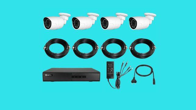 Kit de vigilancia c/ 4 camaras HD 720P DIGITAIS + DVR HDMI + Disco