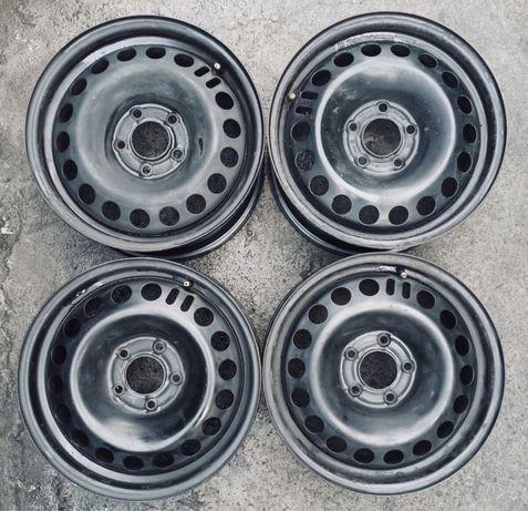 Диски Opel 5:115r16 4 шт комплект оригинал б/у склад железо
