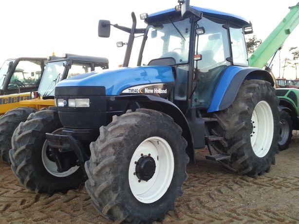 Ciągnik rolniczy New Holland TM 140