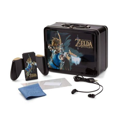 Kit Acessórios Zelda Breath of the Wild - Nintendo Switch link SELADO