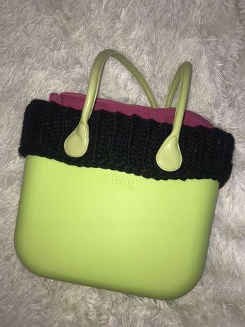 Limonkowa torebka obag