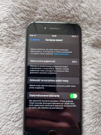 iPhone 8 stan bardzo dobry