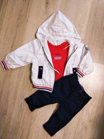 Куртка боди штаны костюм 6-9-12 месяцев