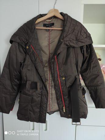 Kurka zimowa brązowa Zara rozmiar M
