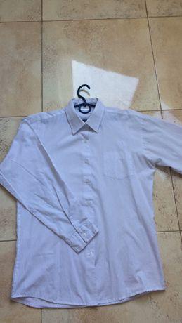 Рубашка белая голубая (длинный,короткий рукав)12-15лет
