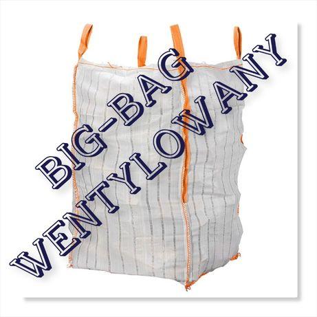 Big Bag 90/90/185cm na kapustę ziemniaki marchew / Worek wentylowany
