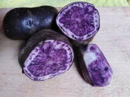 ziemniaki fioletowe truflowe sałatkowe - robimy przesyłki