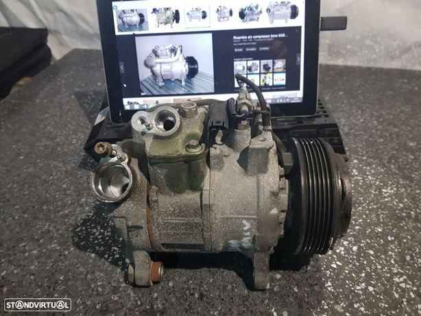 Compressor Ar Condicionado BMW 320D 120D 520D 2.0D Com Motor N47 X1 X3 318D 118D