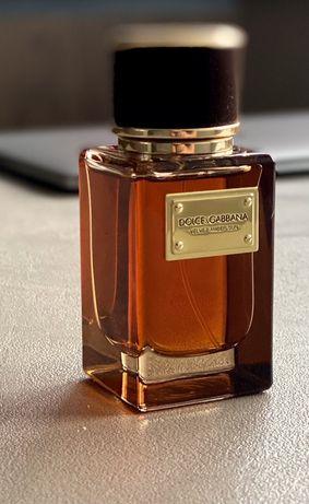Духи Dolce and Gabbanna  velvet amber sun   , нисшевая парфюмерия