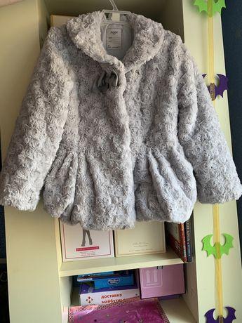 Шуба для девочки , майорал, mayoral, шубка, пальто, куртка