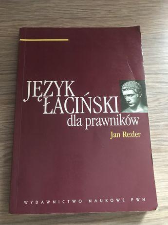 Książka, podręcznik Jan Rezler Łacina dla prawników
