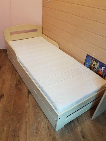 Łóżko dziecięce Wróbel Timi 80x180 + materac Hevea