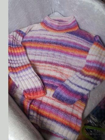 Sweter wełniany L/XL jak nowy