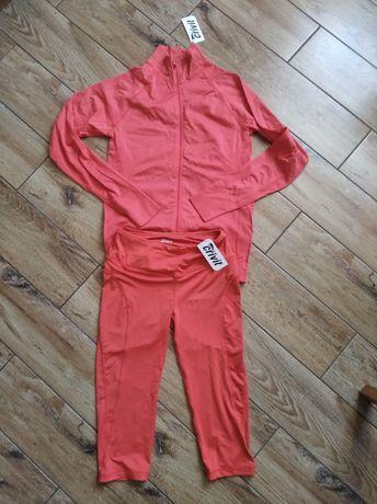 NOWY komplet strój dres sportowy do biegania, na rolki r. XS