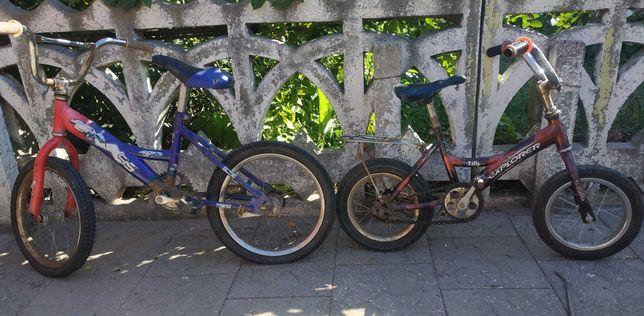 Велосипеды тетские