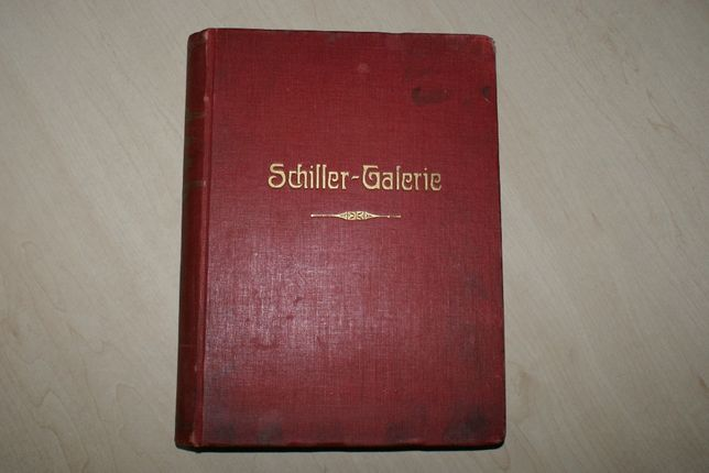 Schiller-Galerie. Charaktere Aus Shillers werken. Leipzig 1859г.