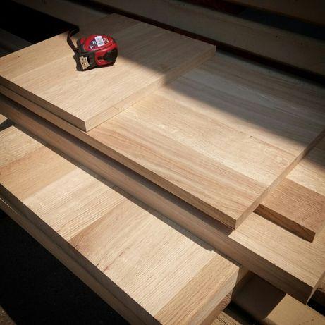 Доска дубовая строганная, мебельные дубовые заготовки, щит, брус.