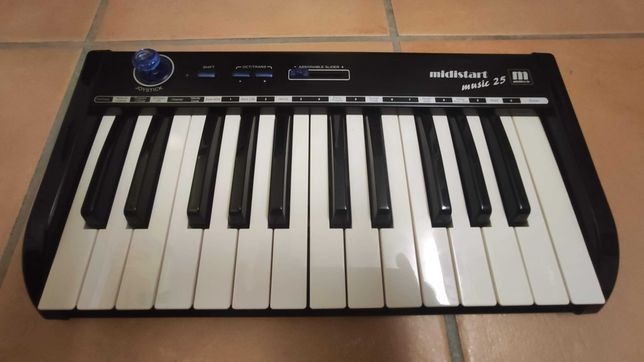 Teclado midistart music 25