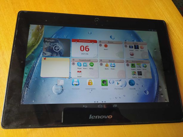 Планшет 10 дюймов Lenovo IdeaTab S6000-H 3G 16GB Black