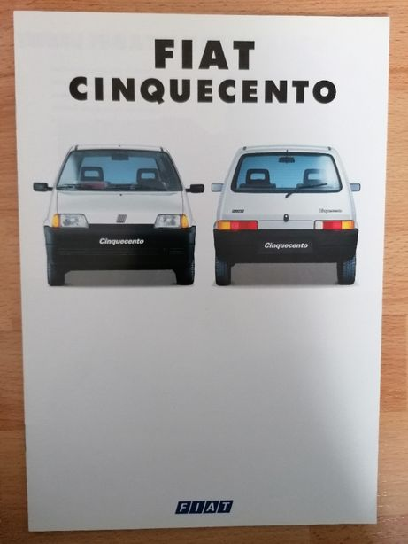 Prospekt Fiat Cinquecento 0.9 i.e.