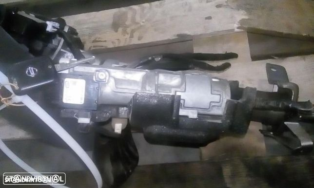 Ignição mais centralina do motor Nissan Navarra D40