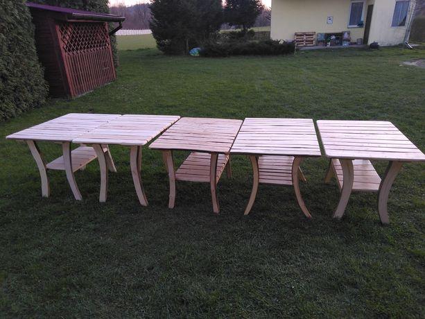 Stoły. Nowe stoły drewniane