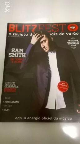 Blitz Fest n.7, capa Sam Smith (portes incluídos)