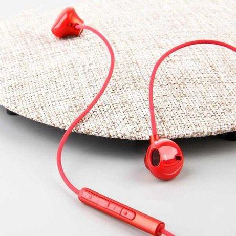 Prosto Do Ucha. Czerwone, Czarne, Białe. Słuchawki Baseus Encok H06