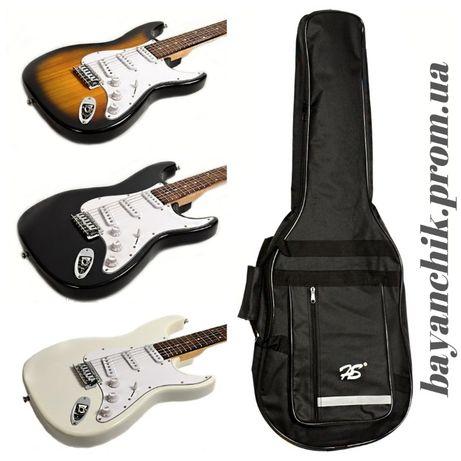 Электро гитара J8 ST HMG 101 +чехол Набор Цена со склада АКЦИЯ