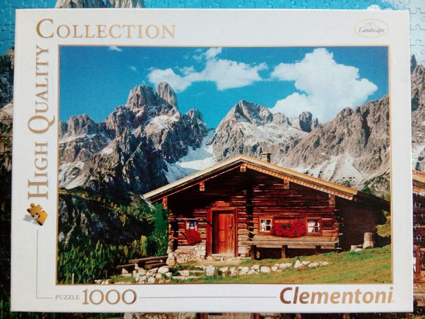 Puzzle Clementoni 1000 Austria: the Mountain House.