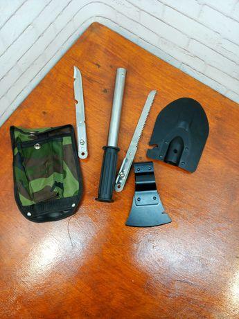 Складная саперная лопата Туристический набор 5 в1