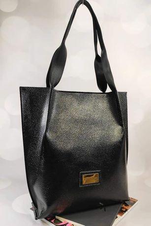 Mega torba shopper bag Laura Biaggi nowa kolekcja wiosna 2021
