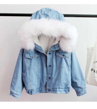 Куртка Джинсовая -холодная осень