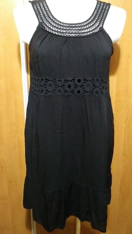 Sukienko tunika na szerokich ramiączkach, 44-46