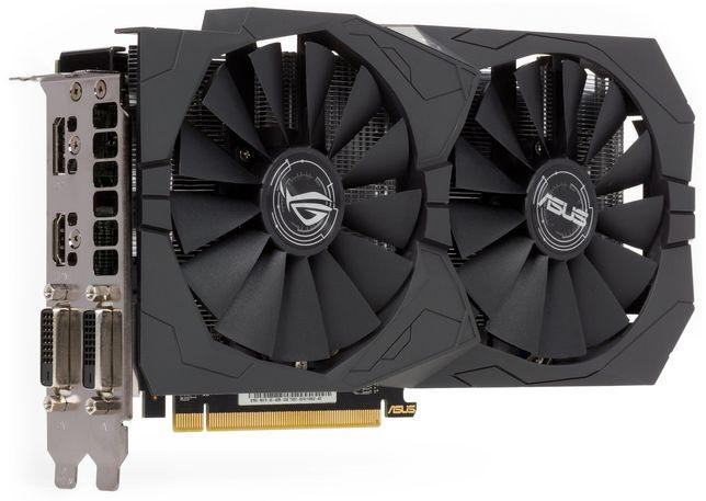 Видеокарта Radeon Asus strix rx 470 4 gb