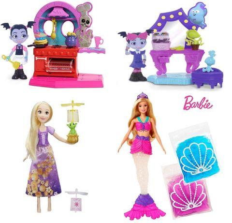 Оригинал из США! Куклы Рапунцель, Вампирина, Барби-русалка со слаймом